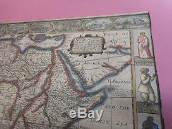 100% Original Large Africa Map By John Speed C1626 Hand Coloured