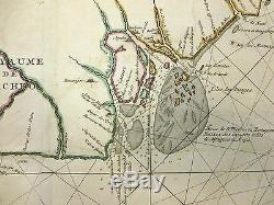 1693 Mortier Map or Sea Chart of West Coast of Africa (Senegal, Guinea, Gambia)
