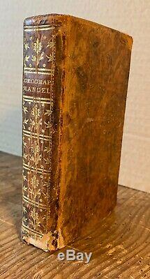 1765 Antique Book MANUAL GEOGRAPHY 6 MAPS China Worldwide Asia Africa America
