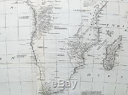 1765 Emmanuel Bowen Very Large Antique Map of Africa (40910-1)