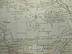 1782 Kitchin Early Map of Africa ORIGINAL MAP