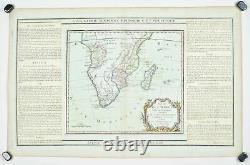 1786 Southern Africa and Madagascar Desnos Antique Map