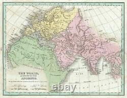 1835 Bradford Map of the Ancient World (Europe, Asia, Africa)