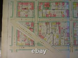 1892 Map of NW DC Foggy Bottom Area-Rare large property specific detail