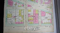 1892 Map of NW DC- Freedom Plaza Area Rare large property specific detail
