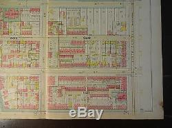 1892 Map of NW DC- Gonzaga Area Rare large property specific detail