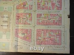 1892 Map of NW DC-Lafayette Sq/White House- Rare large property specific detail