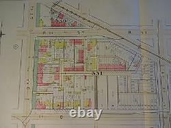 1892 Map of NW DC- Q & 3rd St/W & 13th ST Rare large property specific detail