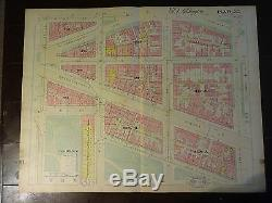 1892 Map of NW DC- Smithsonian Area Rare large property specific detail