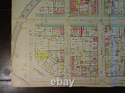 1892 Map of NW DC West of Wash Circle-Rare large property specific detail