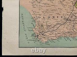 1900ca War Of Boers antique map Africa the South