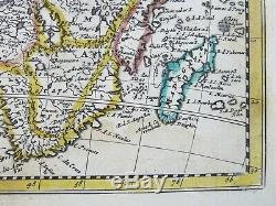 1st state de Medrano-Peeters antique, small map of Africa published 1690-1725