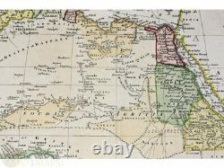 Africa Old Map Kingdoms Africa by J Russell 1801 Map kingdoms and empires