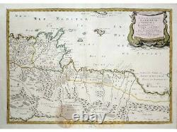 Africa Tunes and Tripoli antique map Barbarie Sanson 1655