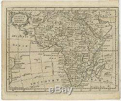 Africa from the best Authorities Kitchin (c. 1770)