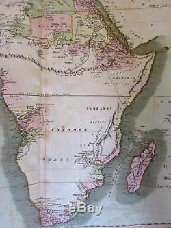 Africa remarkable Mts. Of the Moon Unknown Parts 1811 Cary lovely large old map