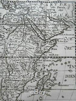 African Continent Apocryphal Geography Morocco Egypt Guinea Zanzibar 168 Sanson