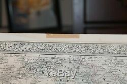 Antique Hand Colored Map of Africa 1860 by S. Augustus Mitchell Original 12x15