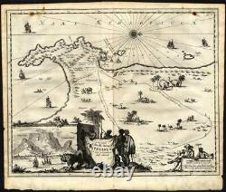 Antique Map-CAPE OF GOOD HOPE-SOUTH AFRICA-Nieuhof-1682