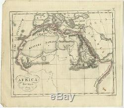 Antique Map of Africa by Funke (1825)