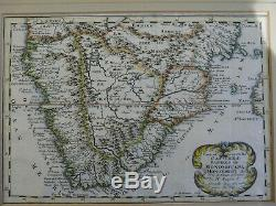 Antique Map of South Africa by Nicolas Sanson. Original map published in 1692
