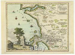Antique Print-CAPE OF GOOD HOPE-SOUTH AFRICA-Albrizzi-1740