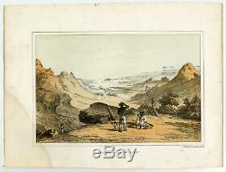Antique Print-MAURITIUS FROM THE POUCE-Perry-Heine-Hawks-1856