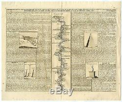 Antique Print-NILE-CAIRO-EGYPT-PYRAMID-SPHINX-Chatelain-1732