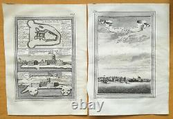 BELLIN Original Engraving Lot of 13 Maps on West Africa