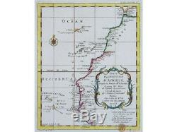 DAfrique Canary Islands Cape Verde Old map Bellin 1738