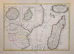 East Africa And Madagascar By Bonne, C. 1778