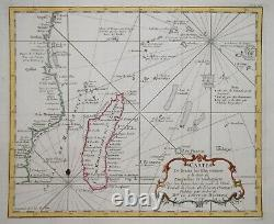 East Africa, Madagascar & Islands Of The Indian Ocean By Bellin, Paris 1740