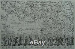 Eastern Mediterranean Europe Asia Africa Travels of the Apostles Blome 1687