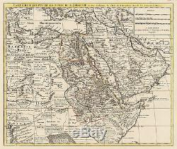 HJB-AntiqueMaps Map of Egypt and Arabia By Covens & Mortier Date 1730 Paris