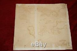 Hand Colored Antique Map of the Americas & Africa from 1771