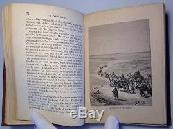 Heroes Of North African Discovery, 1877 Rare Antique Book, Africa Fold Out Map