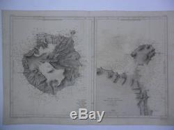 Lote 4 maps islands Canaries