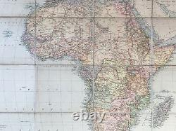 Map Of Africa And Its Explorers