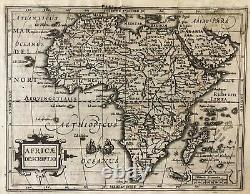 Mercator's map of Africa from the Atlas Minor