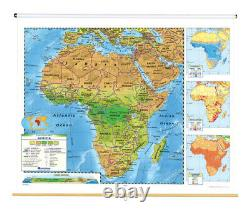 Nystrom Land Cover Africa Map