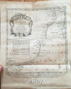 Prevost Voyages Africa Persia Arabia 18 Maps Plates 1747