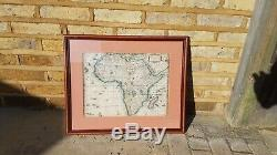 RARE 1652 Antique 17th century Africa Middle East Europe Map Atlas Engraving