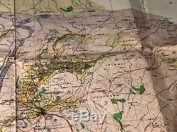 Rare Large (37x32) Geological Map of Southern Rhodesia & Tati Concession 1951