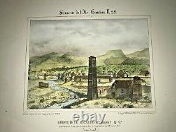 Reunion Island Sugar Factory Armanet 847 Roussin Large Nice Antique View