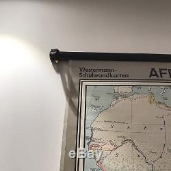 School Wall Map Africa From Colonisation To Independence As Of 1969 Westerman
