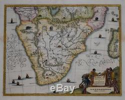 Southern Africa Aethiopia Inferior Vel Exterior By John Ogilby 1670