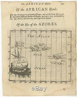 The Isles of Azores Morden (1693)